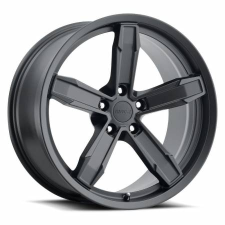 Factory Reproductions Wheels - FR Series Z10 Replica Iroc Wheel 20x10 5X120 ET20 66.9CB Satin Black