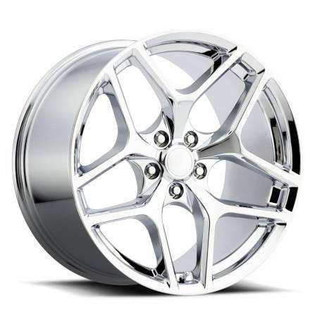 Factory Reproductions Wheels - FR Series 27 Replica Camaro Z28 Wheel 20X10 5X120 ET35 66.9CB Chrome