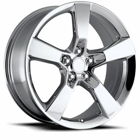 Factory Reproductions Wheels - FR Series 30 Replica Camaro SS Wheel 20X9 5X120 ET40 66.9CB Chrome