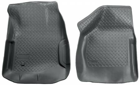 Husky Liners - Husky Liners 00-07 Ford F Series SuperDuty Reg./Super/Super Crew Cab Classic Style Gray Floor Liners