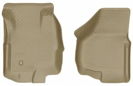 Husky Liners - Husky Liners 00-05 Ford Excursion Classic Style Tan Floor Liners