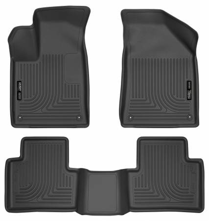 Husky Liners - Husky Liners 15 Chrysler 200 Weatherbeater Black Front and Second Seat Floor Liners