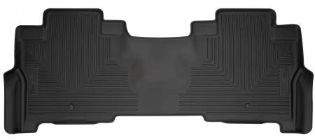 Husky Liners - Husky Liners 2018 Ford Expedition WeatherBeater Second Row Black Floor Liners