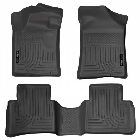 Husky Liners - Husky Liners 13 Nissan Altima Weatherbeater Black Front & 2nd Seat Floor Liners