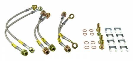 Goodridge - Goodridge 08-10 Chevy Cobalt SS Models w/ Brembo Calipers Stainless Steel Brake Lines Kit