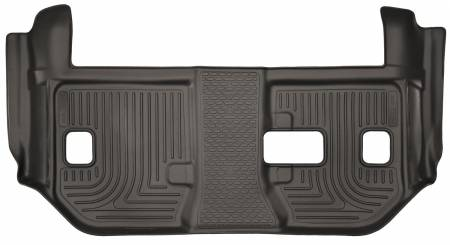 Husky Liners - Husky Liners 15-18 Cadillac Escalade ESV 2nd Row Bench Seats X-Act Contour Cocoa 3rd Row Floor Liner