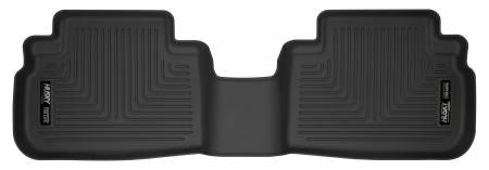 Husky Liners - Husky Liners 2019 Subaru Forester Black Second Row Floor Liners