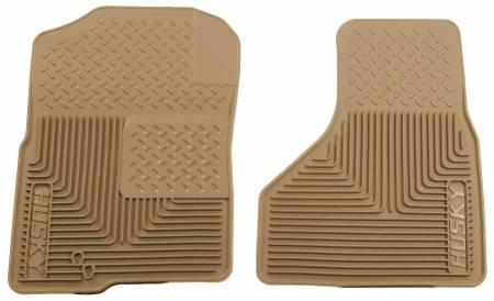 Husky Liners - Husky Liners 09-10 Dodge Ram 1500/10-11 Ram 2500/3500 Custom Fit Heavy Duty Tan Front Floor Mats