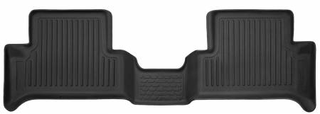 Husky Liners - Husky Liners 2015 Chevy Colorado / GMC Canyon Extended Cab X-Act Contour Black 2nd Row Floor Liners