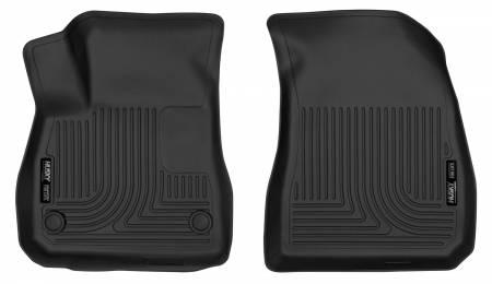 Husky Liners - Husky Liners 2016+ Chevrolet Malibu X-Act Contour Black Front Floor Liners