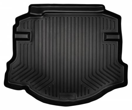 Husky Liners - Husky Liners 06-11 Honda Civic (4DR/Non-Hybrid) WeatherBeater Black Trunk Liner