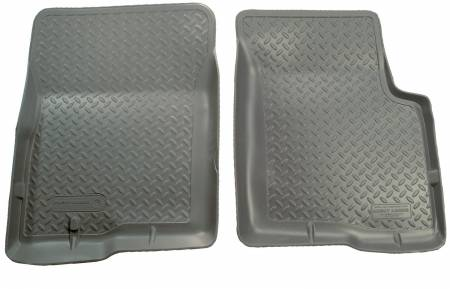 Husky Liners - Husky Liners 97-04 Ford Truck (1/2 and 3/4 Ton Light Duty Only) Classic Style Gray Floor Liners