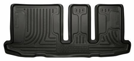 Husky Liners - Husky Liners 13 Infiniti JX35 / 13 Nissan Pathfinder Weatherbeater Black 3rd Seat Floor Liner