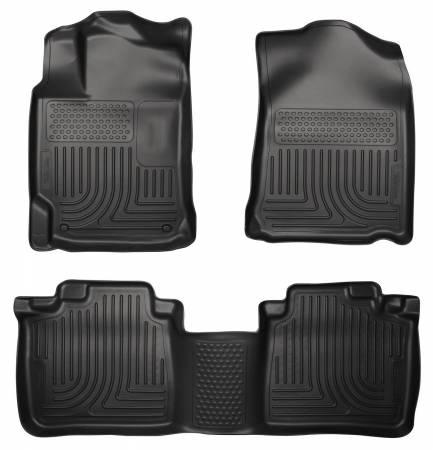 Husky Liners - Husky Liners 13 Lexus ES300h / ES350 Weatherbeater Black Front & 2nd Seat Floor Liners