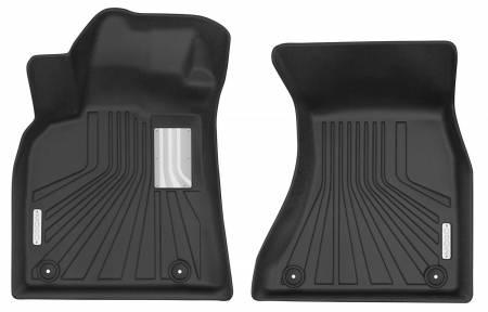 Husky Liners - Husky Liners 2009-2017 Audi Q5 Mogo Black Front Row Floor Liners