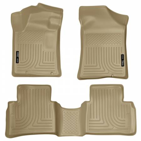Husky Liners - Husky Liners 14 Nissan Altima Weatherbeater Black Front & 2nd Seat Floor Liners