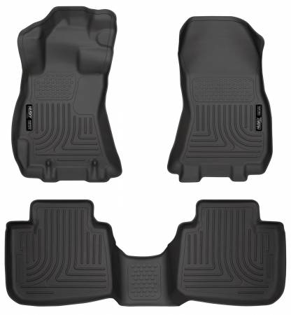 Husky Liners - Husky Liners 13 Subaru Legacy/Outback WeatherBeater Front & 2nd Seat Black Floor Liners