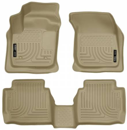 Husky Liners - Husky Liners 13 Ford Fusion WeatherBeater Combo Tan Floor Liners