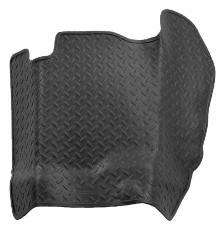 Husky Liners - Husky Liners 04-08 Ford F-150 Super/Crew Cab Classic Style Center Hump Black Floor Liner