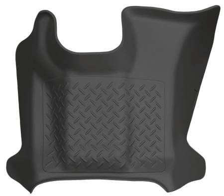 Husky Liners - Husky Liners 11-12 Ford F-250-F-450 SD Super/Crew Cab Classic Style Center Hump Black Floor Liner