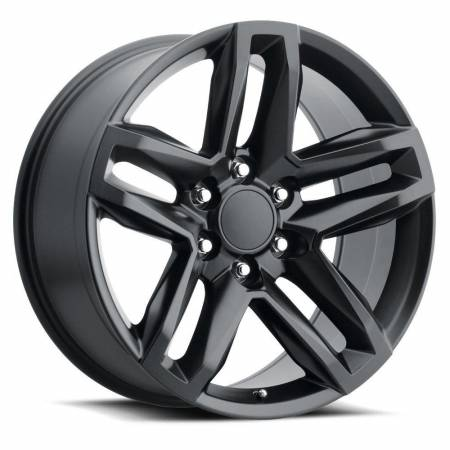 Factory Reproductions Wheels - FR Series 94 Replica Z71 Wheel 22x9 6X5.5 ET15 78.1CB Satin Black