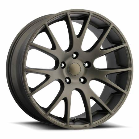 Factory Reproductions Wheels - FR Series 70 Replica Hellcat Wheel 20X9 5X5.5 ET25.4 77.8CB Bronze