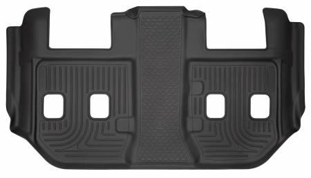 Husky Liners - Husky Liners 2015 Chevrolet/GMC Suburban/Yukon XL WeatherBeater Black Third Seat Floor Liners
