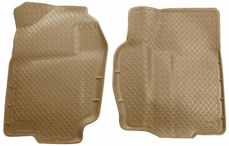 Husky Liners - Husky Liners 94-02 Dodge Ram Full Size Classic Style Tan Floor Liners