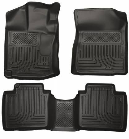 Husky Liners - Husky Liners 12-13 Toyota Venza WeatherBeater Black Front & 2nd Seat Floor Liners