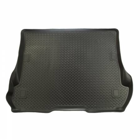 Husky Liners - Husky Liners 08-12 Toyota Sequoia Classic Style Black Rear Cargo Liner (Behind 2nd Row)