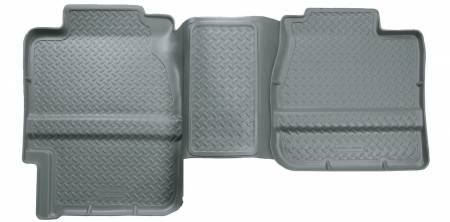 Husky Liners - Husky Liners 88-00 GM Full Size Truck 3DR/Ext. Cab Classic Style 2nd Row Gray Floor Liners