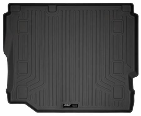 Husky Liners - Husky Liners 2018 Jeep Wrangler Unlimited WeatherBeater Black Rear Cargo Liner