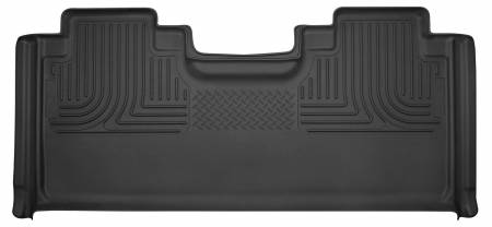 Husky Liners - Husky Liners 15-17 Ford F-150 Super Cab X-Act Contour Black 2nd Seat Floor Liners