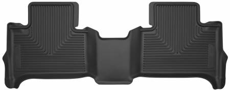 Husky Liners - Husky Liners 15 Chevy Colorado / GMC Canyon X-Act Contour Black 2nd Row Floor Liners