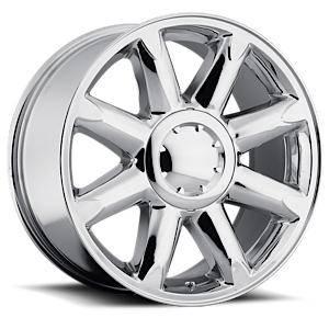 Factory Reproductions Wheels - FR Series 38 Replica Denali Wheel 20X8.5 6X5.5 ET31 78.1CB Chrome