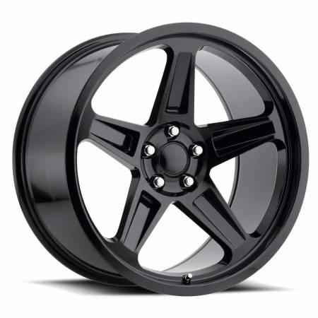 Factory Reproductions Wheels - FR Series 73 Replica SRT Demon Wheel 20X9.5 5X115 ET12 71.5CB Gloss Black