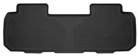 Husky Liners - Husky Liners 18+ Chevrolet Traverse w/ Bench/Bucket Seat X-Act Contour Black Floor Liners (2nd Seat)
