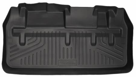 Husky Liners - Husky Liners 11-12 Toyota Sienna WeatherBeater Black Rear Cargo Liner (w/Man. Storing 3rd Row Seats)