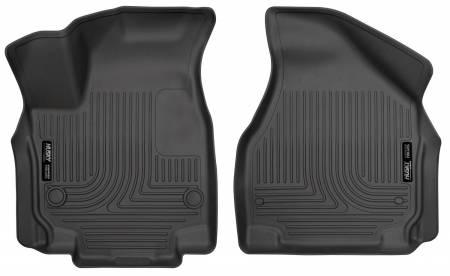 Husky Liners - Husky Liners 2017 Chrysler Pacifica WeatherBeater Front Row Black Floor Liners