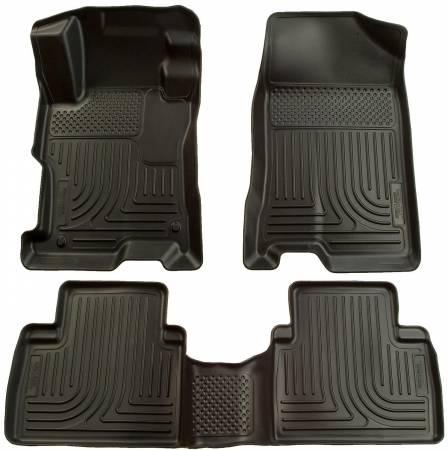 Husky Liners - Husky Liners 06-11 Honda Civic (4DR) WeatherBeater Combo Black Floor Liners