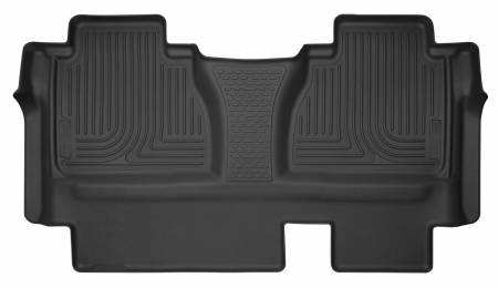 Husky Liners - Husky Liners 14-16 Toyota Tundra Double Cab  X-Act Contour Black 2nd Row Floor Liner (Full Coverage)