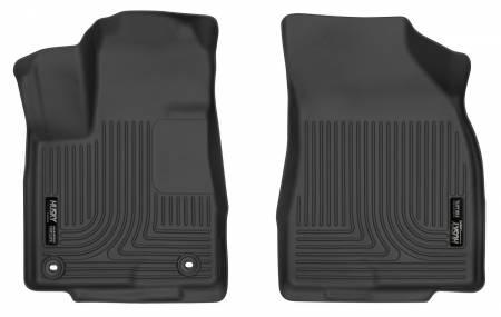 Husky Liners - Husky Liners 14-18 Toyota Highlander X-Act Contour Black Front Floor Liners