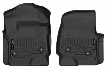 Husky Liners - Husky Liners 2017 Ford F250 Crew Cab Vinyl X-Act Contour Black Floor Liners