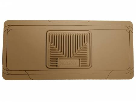 Husky Liners - Husky Liners Universal Classic Style Center Hump Tan Floor Mat (w/o Shifter Console)