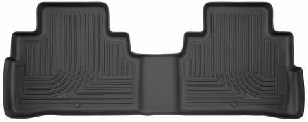 Husky Liners - Husky Liners 2015 Nissan Murano Weatherbeater Black 2nd Row Floor Liners