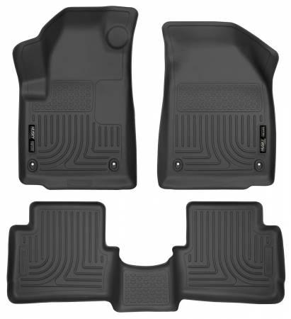 Husky Liners - Husky Liners 2013 Dodge Dart WeatherBeater Black Front & 2nd Seat Floor Liners