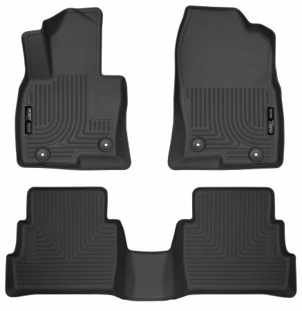 Husky Liners - Husky Liners 2017 Mazda CX-5 Weatherbeater Black Front & 2nd Seat Floor Liners
