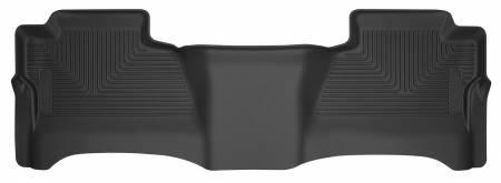Husky Liners - Husky Liners 14 Chevrolet Silverado 1500 / GMC Sierra 1500 X-Act Contour Black 2nd Seat Floor Liner