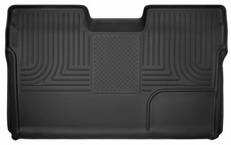 Husky Liners - Husky Liners 09-14 Ford F-150 SuperCrew Cab X-Act Contour Second Row Seat Floor Liner - Black