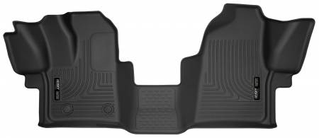 Husky Liners - Husky Liners 2015 Ford Transit-150/Transit-250/Transit-350 X-Act Contour Black Front Row Liner